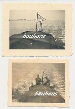 2 x Foto Schiff  Rep.Zug  2.WK (h655)
