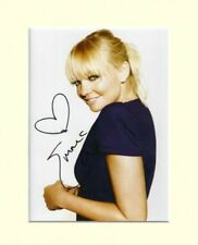 EMMA BUNTON BABY SPICE GIRLS HEART PP 10X8 MOUNTED SIGNED AUTOGRAPH PHOTO PRINT