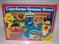 "Colorforms Sesame Street Pre-School Play Set NIB Ages 3-6 Sealed 12"" x 16"""