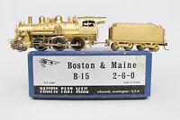 HO BRASS PFM B&M B-15 2-6-0 PACIFIC FAST MAIL FOX TENDER TRUCKS BOSTON & MAINE