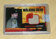 Cryptozoic Walking Dead season 1 wardrobe RICK GRIMES INDUSTRY SUMMIT /175 M1