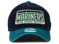 New MLB Seattle Mariners Trucker New Era Tear 9FORTY Snapback Cap Hat