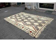 Grand Tapis Marocain Beni Ourain Vintage
