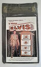ELVIS - Embossed Metal Poster Lithographed Art Sign - Minnie Pearl Harbor - RARE