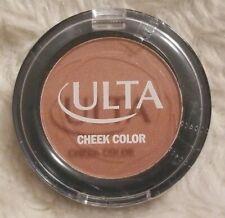 ULTA Cheek Color FLUSH blush pressed powder .08 oz / 2.4 g Sealed NEW rare HTF
