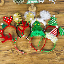 Christmas Headband Christmas Deer Ears Party Xmas Hair Band Clasp Headwear