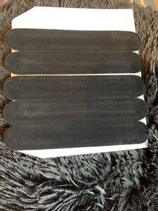 6 pcs Black Velvet Pen Case Pouch Sleeve Holder