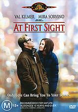 Val Kilmer Mira Sorvino AT FIRST SIGHT - INSPIRING SEXY ROMANTIC TRUE STORY DVD