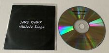 EDDIE VEDDER Ukulele Songs Advance Promo CD PEARL JAM