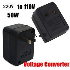 220V To 110V 50W AC Power Voltage Converter Adapter Transformer For US/USA SR