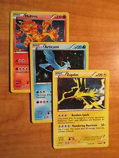 Pokemon MOLTRES ARTICUNO ZAPDOS Card NEXT DESTINIES Set Cosmos Holo 14 27 41 99
