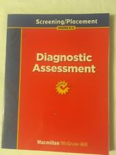 Grade K-6 MacMillan MCGraw Hill Treasures Teacher Diagnostic Assessment