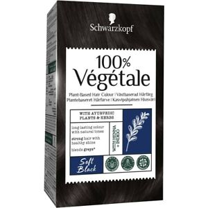 Schwarzkopf 100% Vegetale Plant Based Hair Colour Soft Black