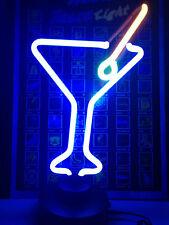 MARTINI COCKTAIL GLAS Bar neon Neonleuchte Neonlampe Leuchte Neonschild signs