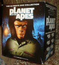 PLANET OF THE APES THE ULTIMATE 14 DVD LIMITED COLLECTION,NEW & SEALED,BUST,RARE