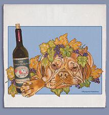 Dogue de Bordeaux Dish Towel