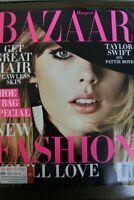 Taylor Swift Harper's Bazaar Magazine August 2018 PATTIE BOYD RARE No Label NEW