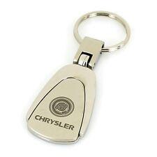 Chrysler Chrome Tear Drop Keychain