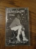 Whitney Houston I'm Your Baby Tonight Cassette 1990 Pop Free Shipping
