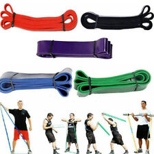Heavy Duty Pull Up Resistance Bands Set Home Gym Fitness Exercise Yoga Pilates!!