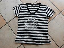 Dulce top/t-shirt, talla s, blanco y negro, como nuevo