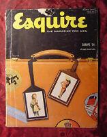 ESQUIRE magazine March 1954 ELAINE STEWART GWEN VERDON New Orleans Goodman Ace