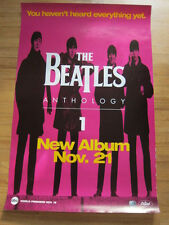BEATLES Anthology 1 Promo Poster purple 24x36