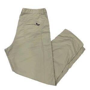 Patagonia Fishing Men's Pants Lightweight Quick Drying Cream Size XXL #82170