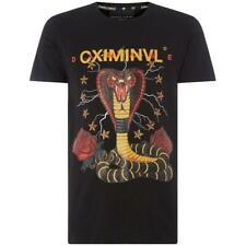 CRIMINAL DAMAGE Snake Graphic T-Shirt. Size: Medium