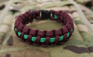 The Parachute Regiment 3Para 3rd Battalion Paracord 550 Bracelet