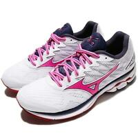 Mizuno Wave Rider 20 White Pink Women Running Training Shoes Sneaker J1GD1703-66
