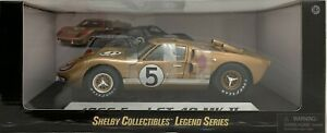 Diecast 1:18 Ford Shelby 1966 GT 40 Mk II (Gold) #5