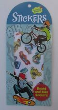 B 37 SKATEBOARD BICYCLE bike stickers Scrapbook acid free sticker chart