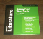 New Pearson Literature Exam View Test Bank CD-ROM Software The British Tradition