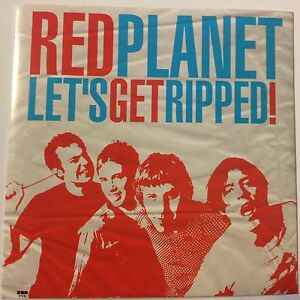 Red Planet Let's Get Ripped Gearhead Records 7 Vinyl Power Pop Punk Exclusive