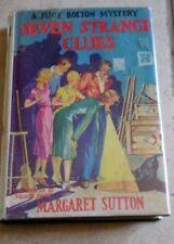 Seven Strange Clues Margaret Sutton Judy Bolton Mystery Hardcover Dust jacket