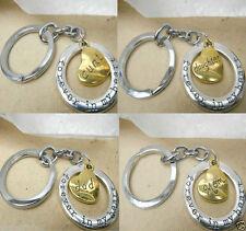 Circle Love & Hearts Metal Collectable Keyrings