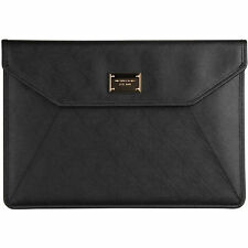 "Michael Kors Genuine Leather Sleeve / Clutch Case for 13"" Macbook Air - Black"