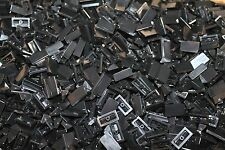 500 X LEGO ® Dachstein/slope 1 x 2 x 2/3 (85984) in nero/black NUOVO