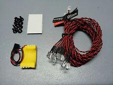 LED Scale Beleuchtung Heli und Flugzeug, T-Rex 450, 500, 600, HeliArtist, Roban