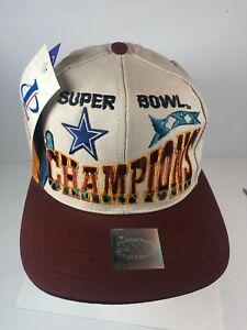 Dallas Cowboys Super Bowl XXX Champions Snapback Cap Hat & New w/ Tags