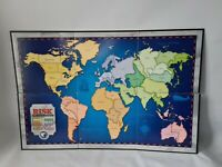 Risk The World Conquest Game Board ONLY Spare Parts Replacement Hasbro