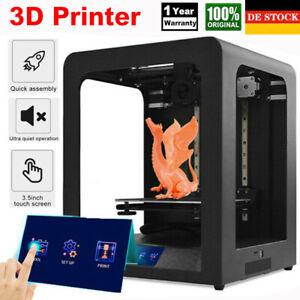 """3D Drucker Hochpräziser Silent 3.5"""" Touchscreen Auto Nivellierung 200*200*200MM"""