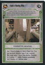 Star Wars CCG A New Hope Limited BB Luke's Hunting Rifle