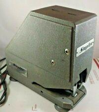 Vintage Staplex Heavy Duty Electric Power Stapler Staple Stapling Machine S 54