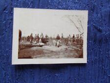 RARA ++ AVIAZIONE FOTO UDINE 1916 IDROVOLANTE CADUTO E INCENDIATO  CM 9 X CM 7