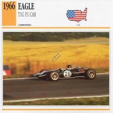 1966 EAGLE T1G F1 Racing Classic Car Photo/Info Maxi Card