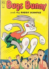 BUGS BUNNY  #432  1952  -THE RABBIT OLYMPICS  VG+  FUNNY ANIMALS DELL  4-COLOR