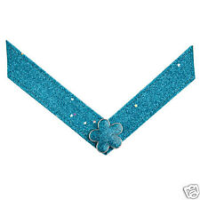 """New! Lindsay Phillips """"Mary Jane"""" SwitchFlops Kids Straps Small Turquoise Bling"""