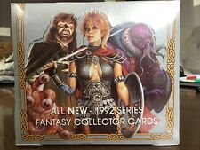 1992 Collector Trading Cards Factory Set Sealed Ad&D Tsr Dungeons & Dragons